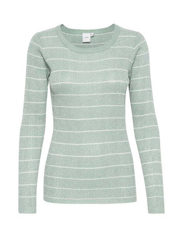 Dorte Long Sleeve Top Malachite Green