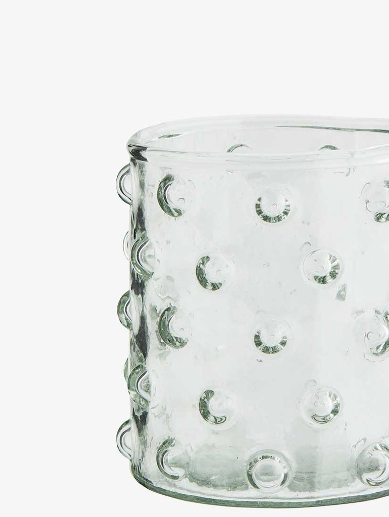 Drinking Glass With Dots