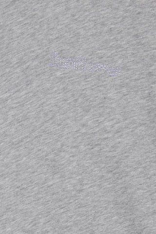 Fiona Embroidered Tee Light Grey Melange