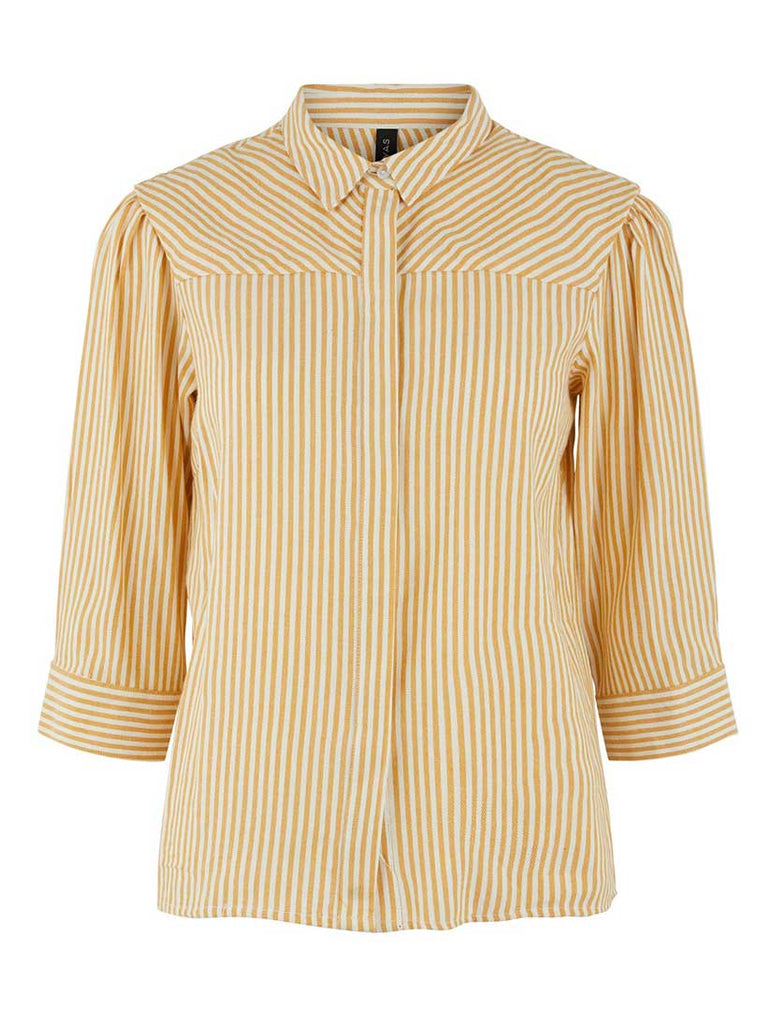 Ember Stripe Shirt Golden Rod