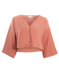 Emily Blouse Coral