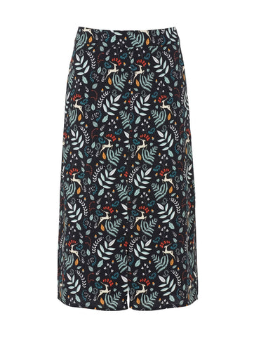 Enchanted Woodland Midi Skirt