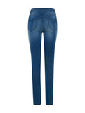 Erin High Waisted Jeans Mid Blue