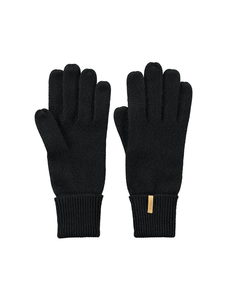 Fine Knitted Gloves Black