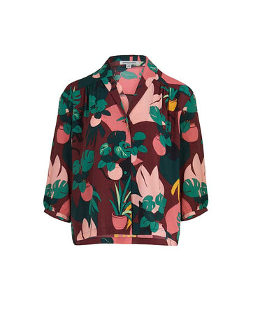 Florrie Blouse Medina Cat