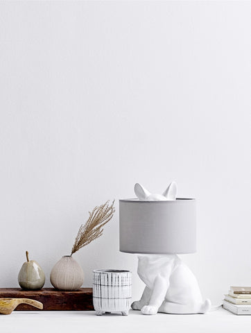 Collected White Terracotta Flowerpot