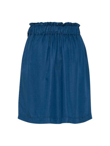 Gelta Skirt Indigo Blue