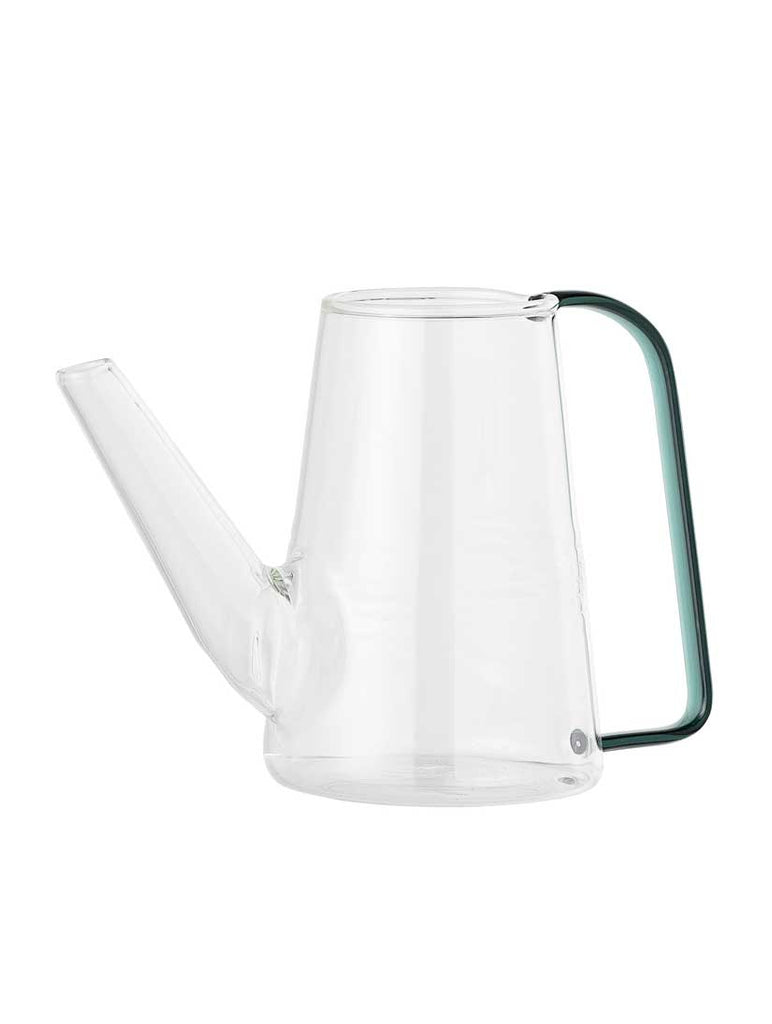 Clear Glass Watering Can