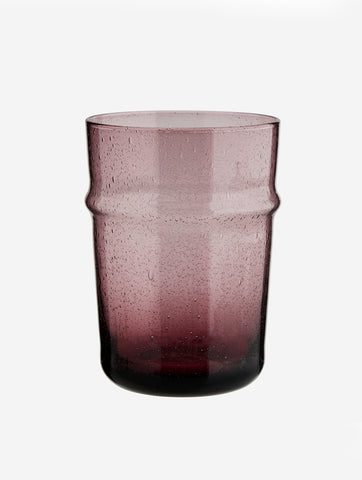 Drinking Glass Purple