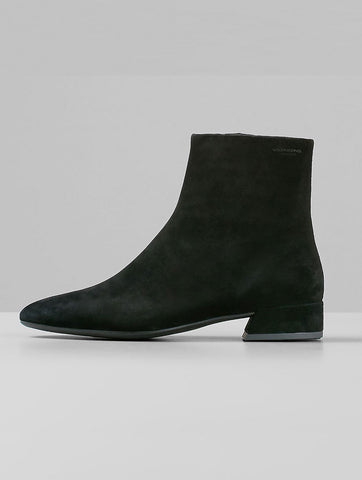 Joyce Black Suede Boot
