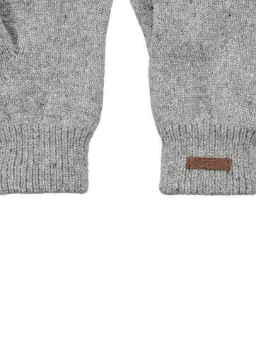 Haakon Gloves Heather Grey