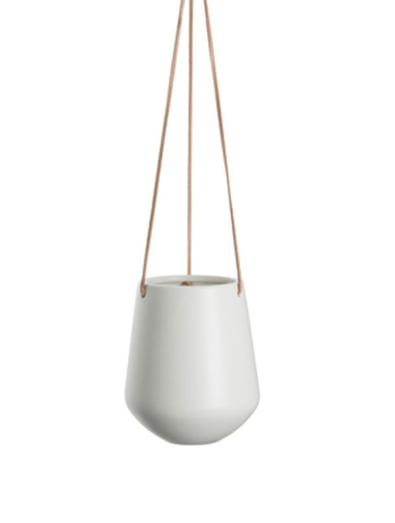 Hanging Pot Large Matt White