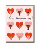 Heart Babes Greeting Card