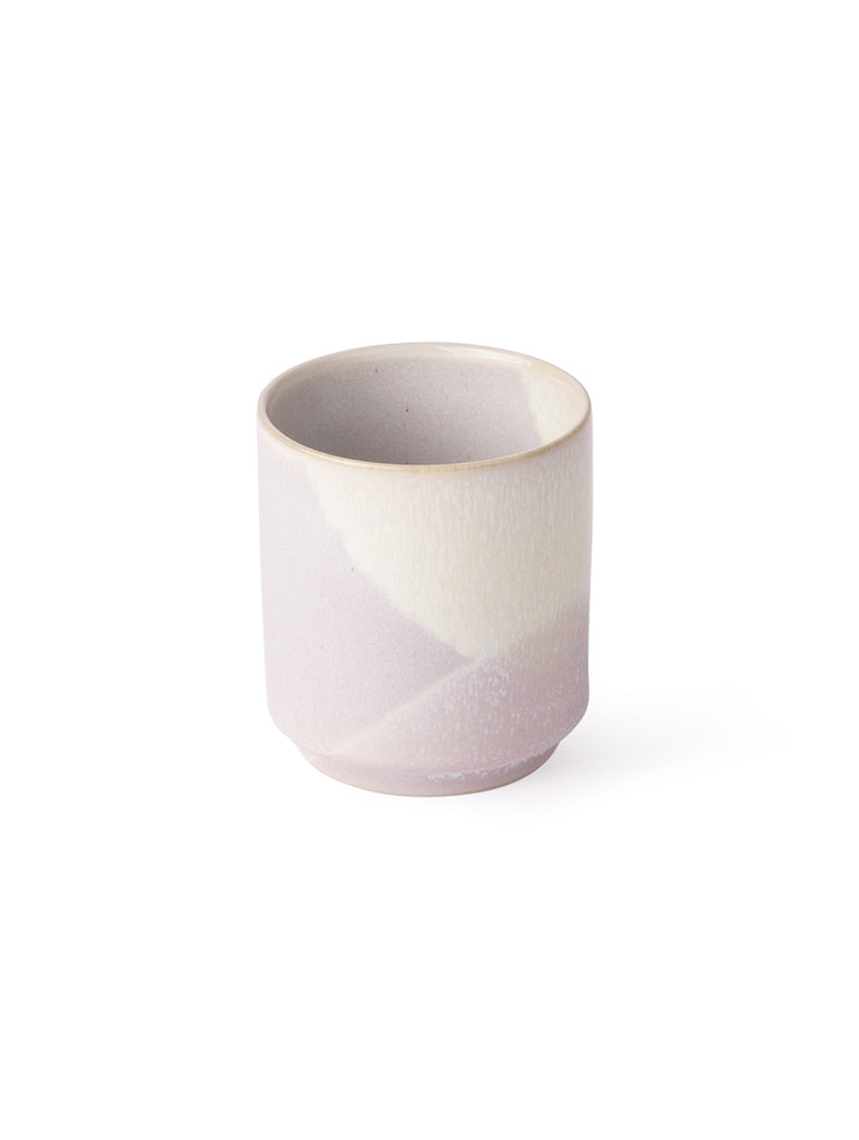 Gallery Coffee Mug Lilac and Yellow