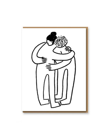 Huggers Greeting Card