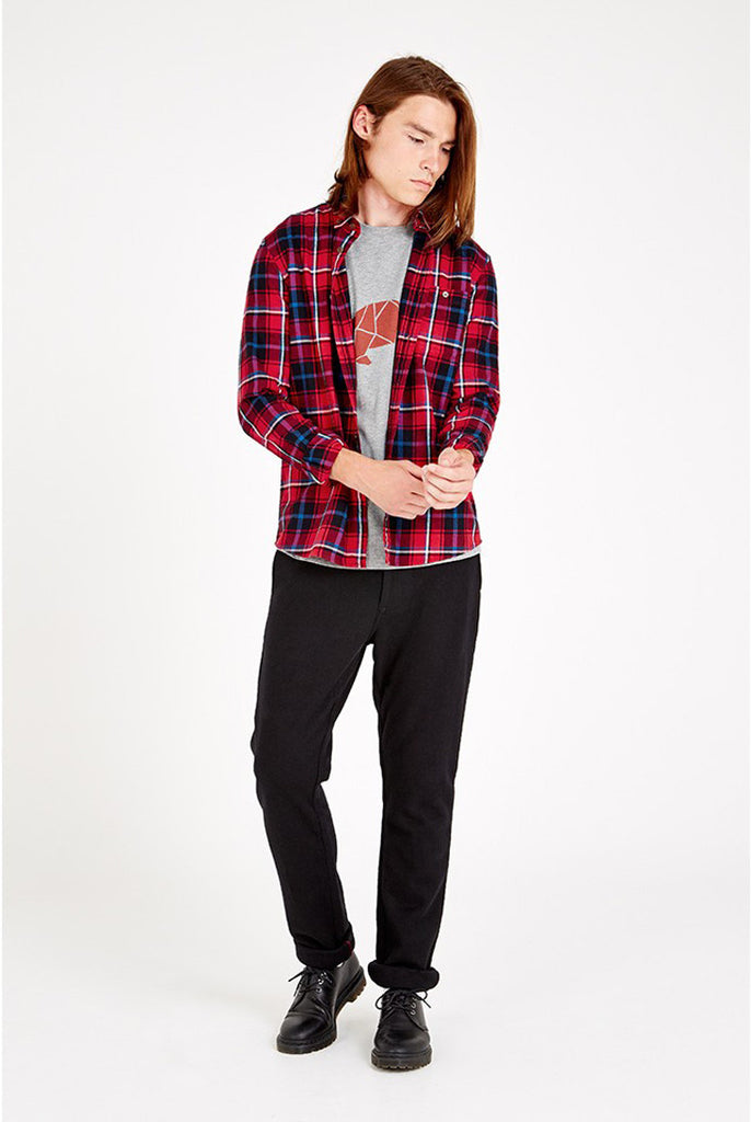 Hope Red Check Shirt