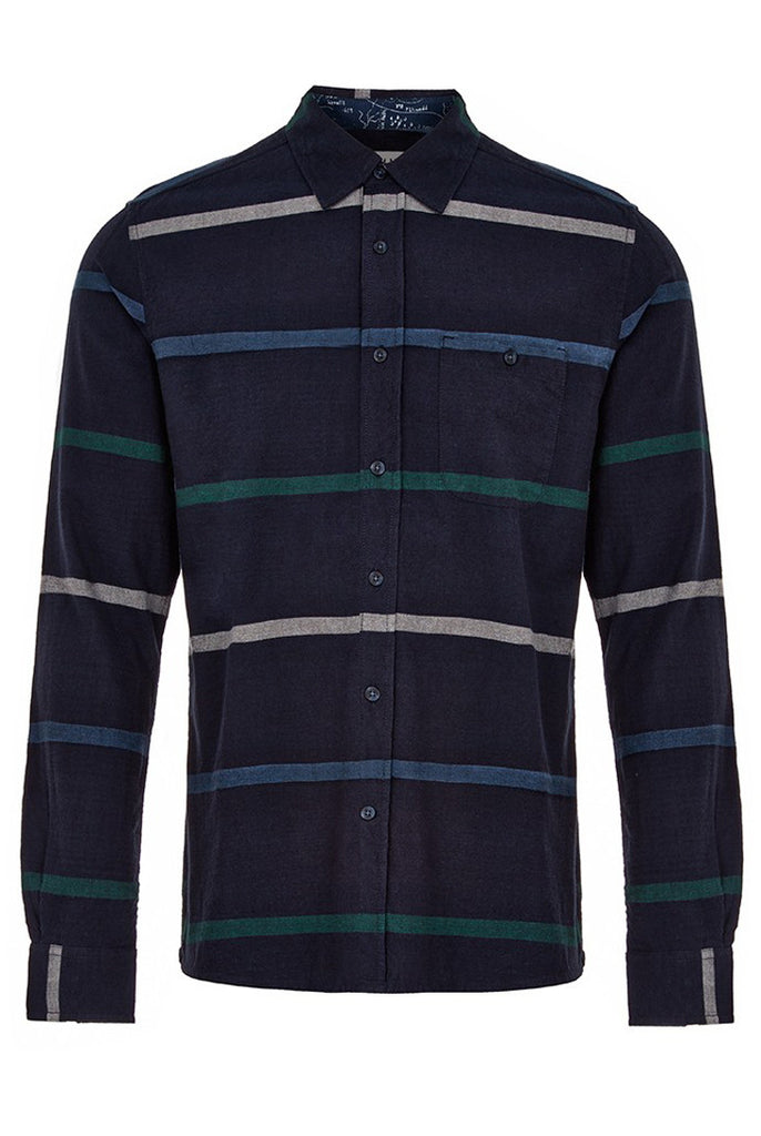 Holywell Navy Shirt