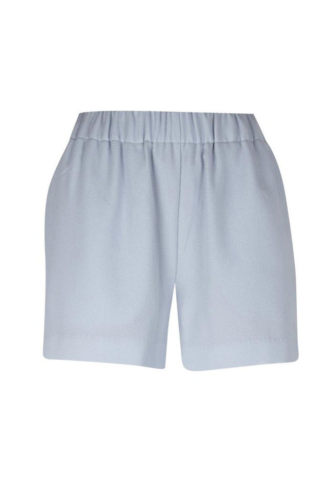 ICHI Savanna shorts in cashmere blue