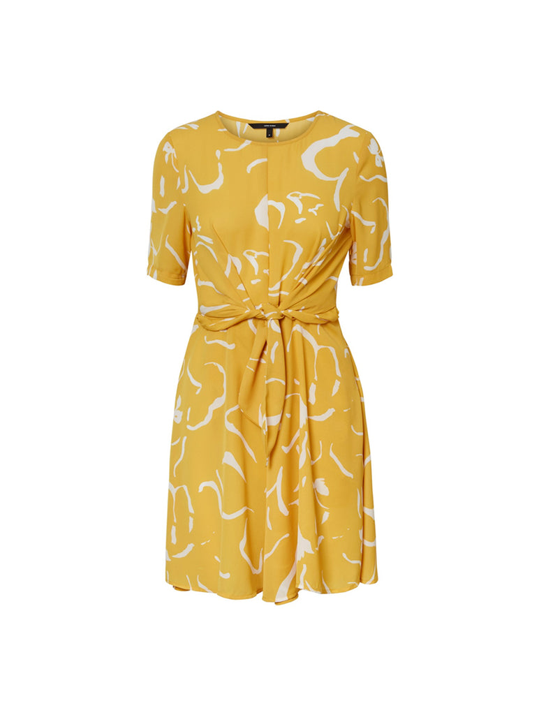 Ilona Short Dress Spicy Mustard