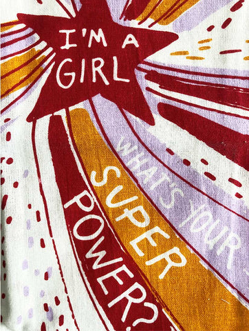 Superpower Dish Towel