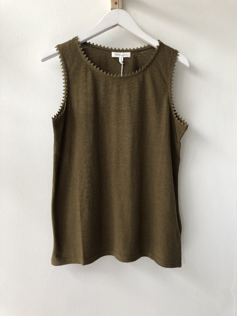 Betta Vest Top Desert Brown