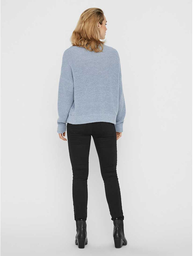 Imagine Crew Neck Jumper Ashley Blue