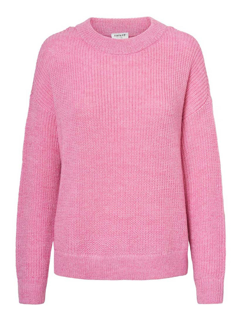 Imagine Crew Neck Jumper Rosebloom