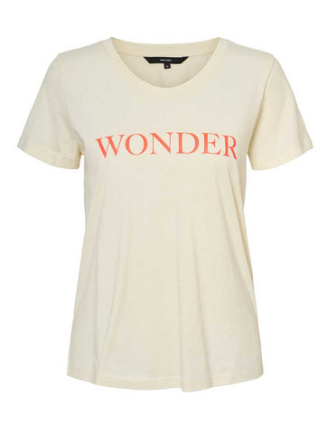 Imogen Diana Wonder Slogan Tee Birch