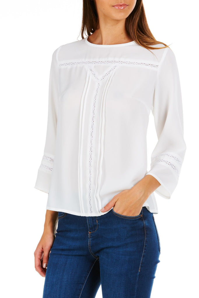 Indianna Lace Boho Top