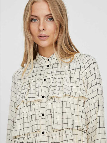 Irene Long Sleeve Shirt Birch