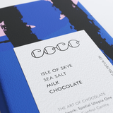 Isle Of Skye Sea Salt Milk Chocolate Bar