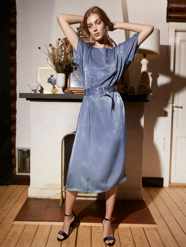 Isolde Dress Aegean Blue