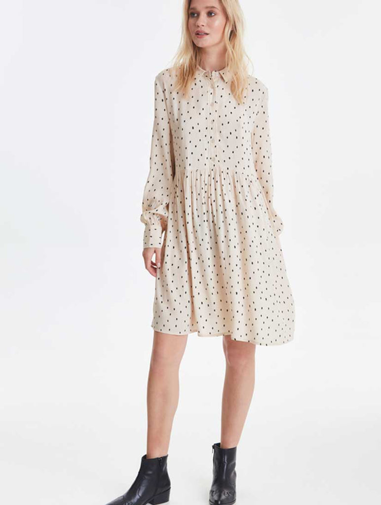 Jade Shirt Dress Tapioca