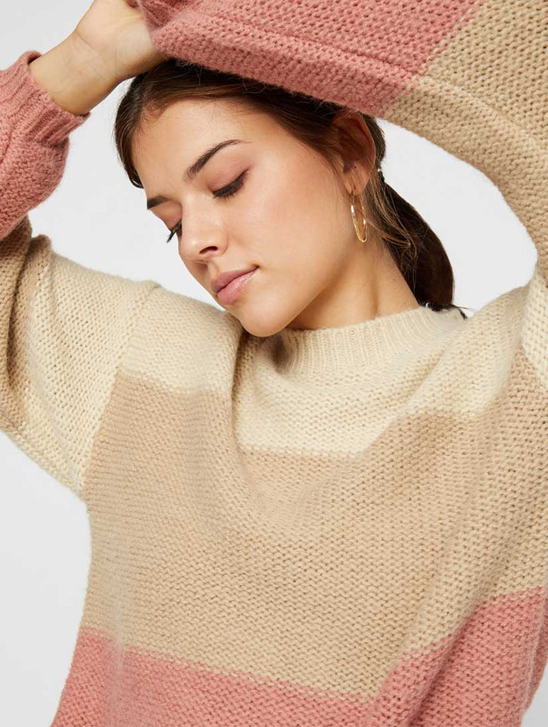 Jasmin Knit Ash Rose