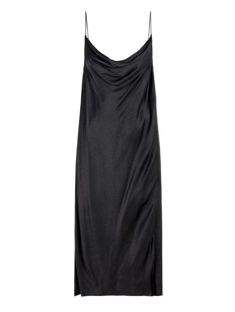 Jean Slip Dress Black