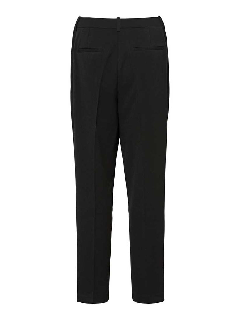 Johanne Cropped Pants Black