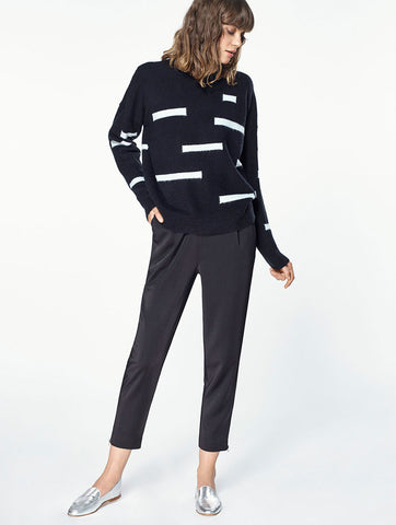 Jumper with Graphic Stripes