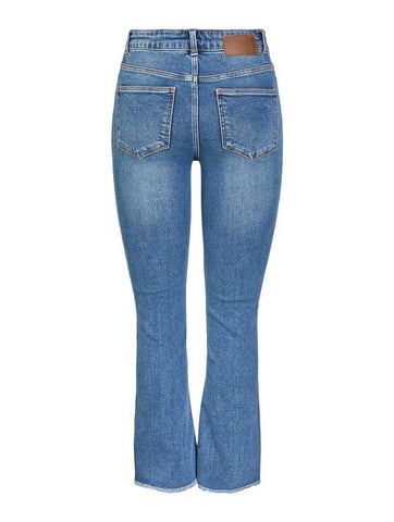 Kamelia Kick Flared Jeans Medium Blue