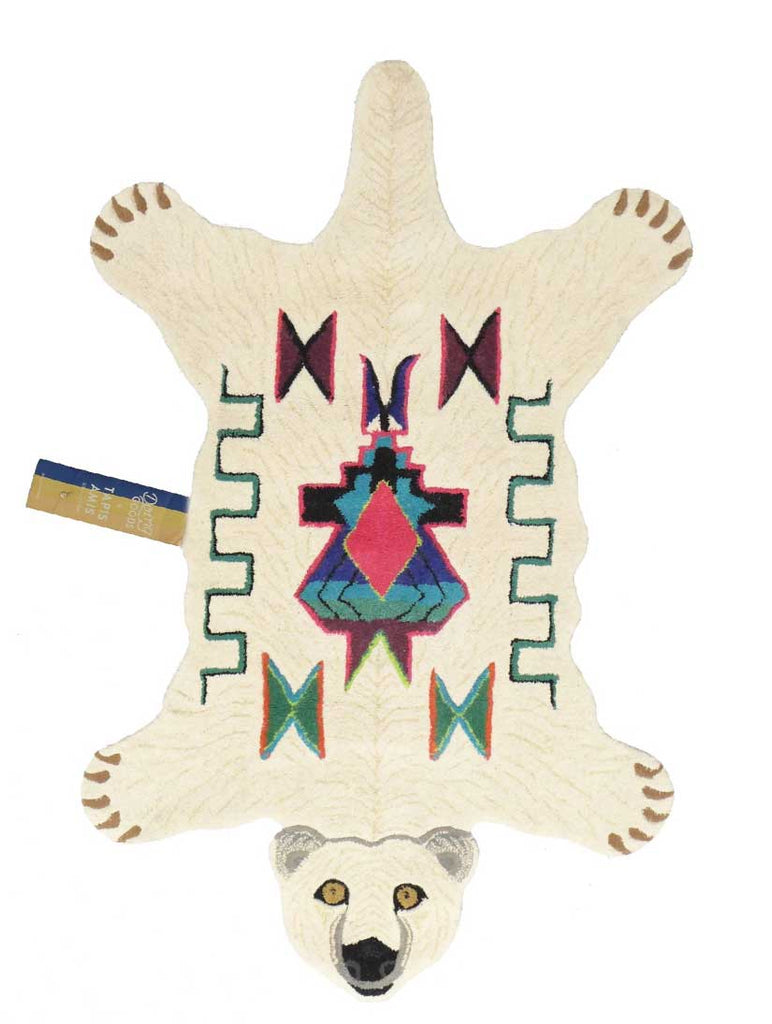 Kasbah Polar Bear Rug Large