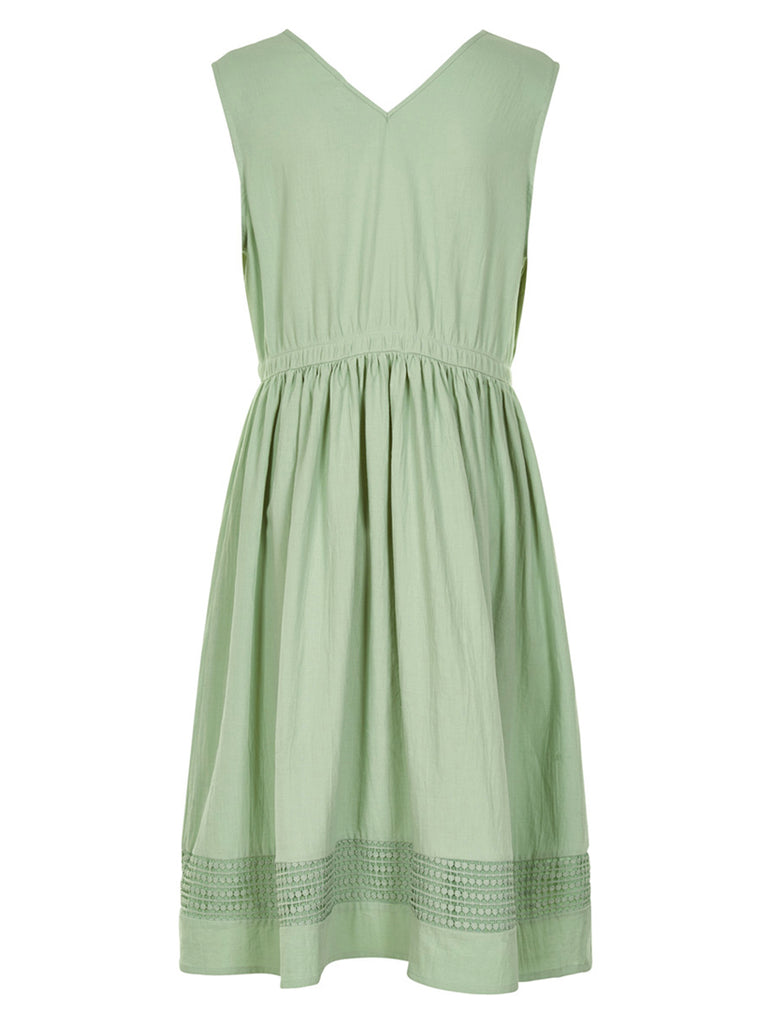 Kiki Dress Granite Green