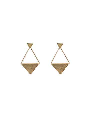 Kira Long Earrings Gold