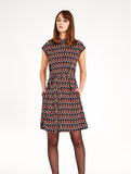 Kristen Abstract Dress