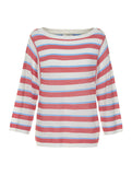 Kynlee Stripe Jumper Rose