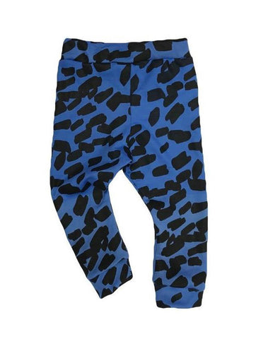 Marlin Allover Smudge Print Leggins