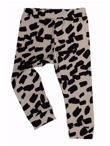 Odyssey Organic Allover Smudge Print Leggings