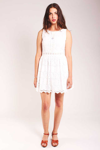 White Rocks Sleeveless Dress