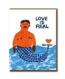 Love Is Real Greeting Card