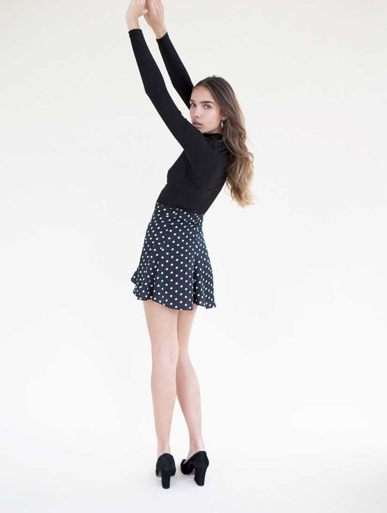 Luna Skirt Black Spot