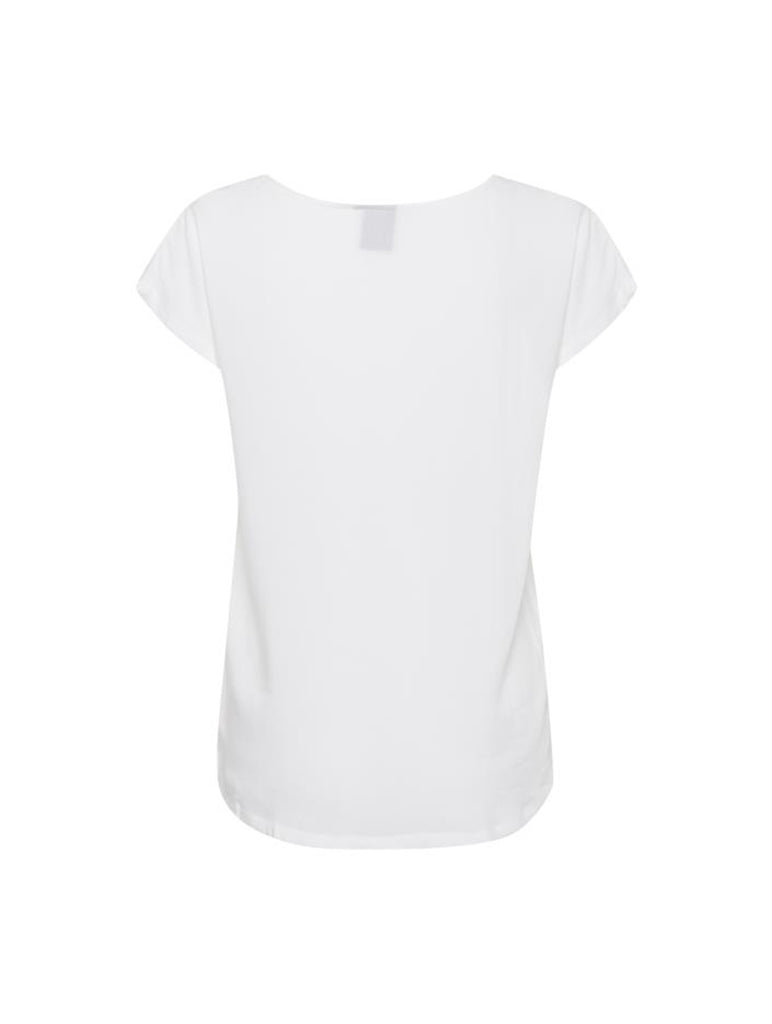 Maja Short Sleeve Top Cloud Dancer