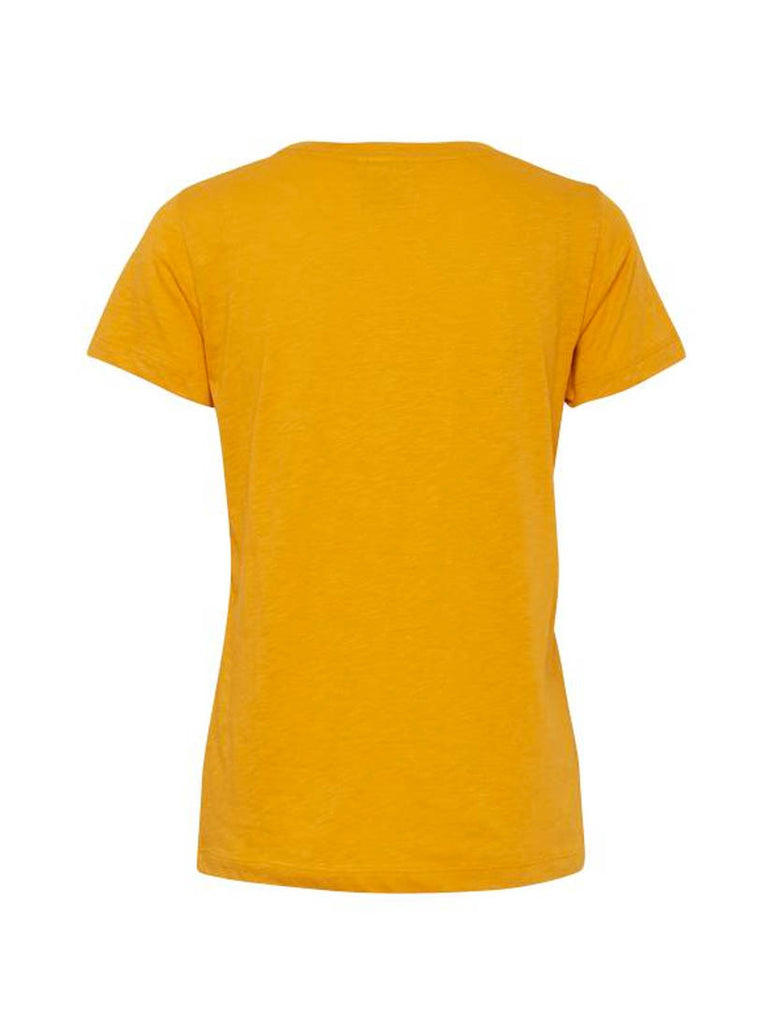 Manhattan Short Sleeved T-shirt Yellow